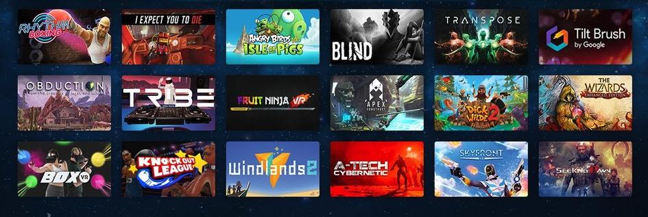 VR games gebruiken in een commerciële omgeving