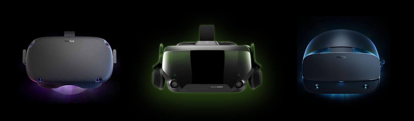 Corona Oculus Quest Valve Index