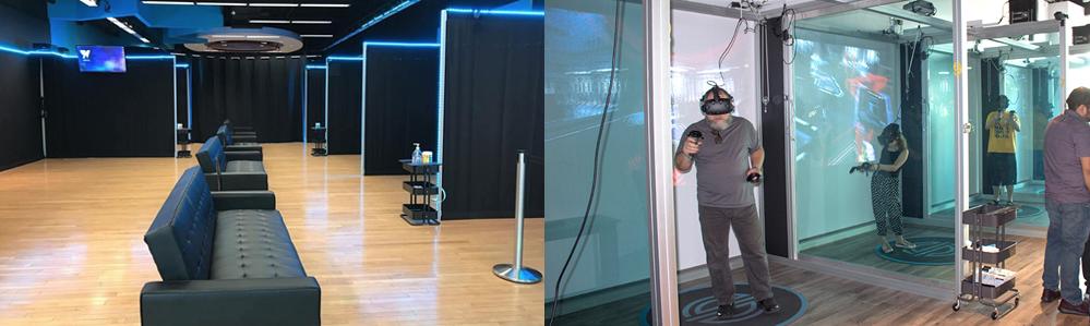 VR Arcade Example 1