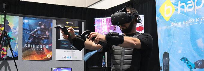Sairento VR and bHaptics