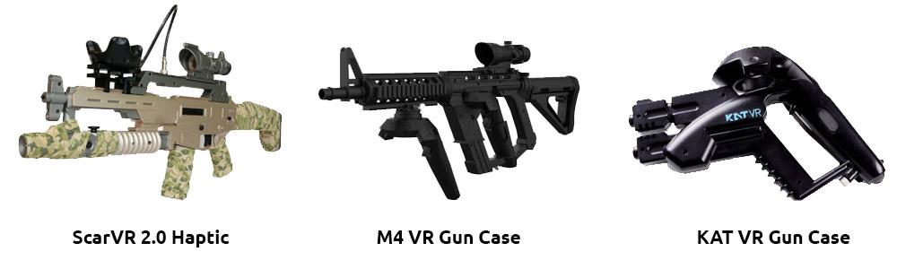 ScarVR 2.0, M4 Gun Case & KAT VR